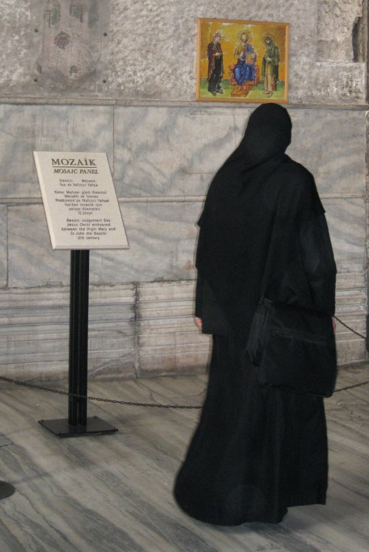 Mosiac Panel Haghia Sofia Istanbul