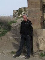 Climbing to Kars Castle