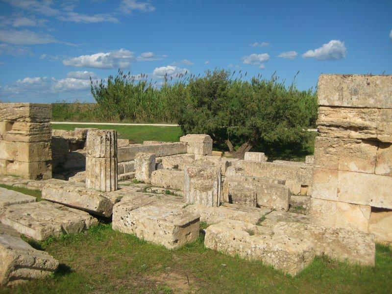 De arkeologiske utgravningene i Selinunte
