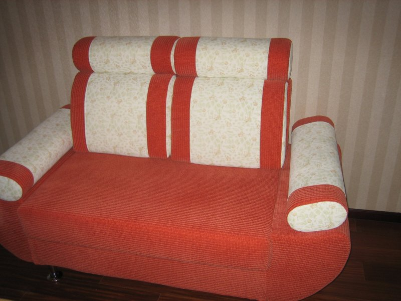 My ugly couch- Before