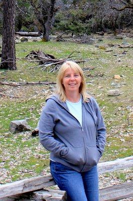 Margaret at Yosemite National Park