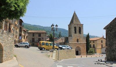 Romanesque church at Llanars