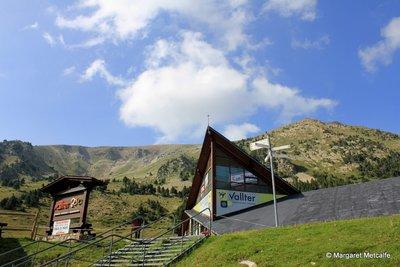 Vallter 2000 ski resort, at 2000 m