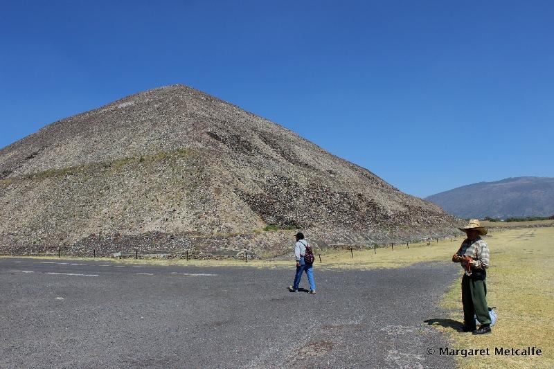 Pyramid of the Sun, Aztec ruins