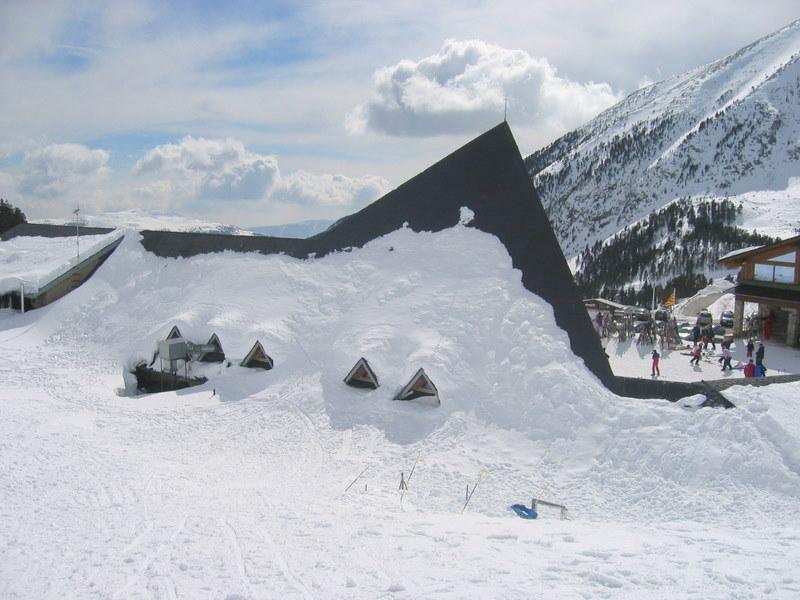 Snow at Vallter 2000