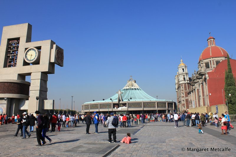 The old and new Basilicas