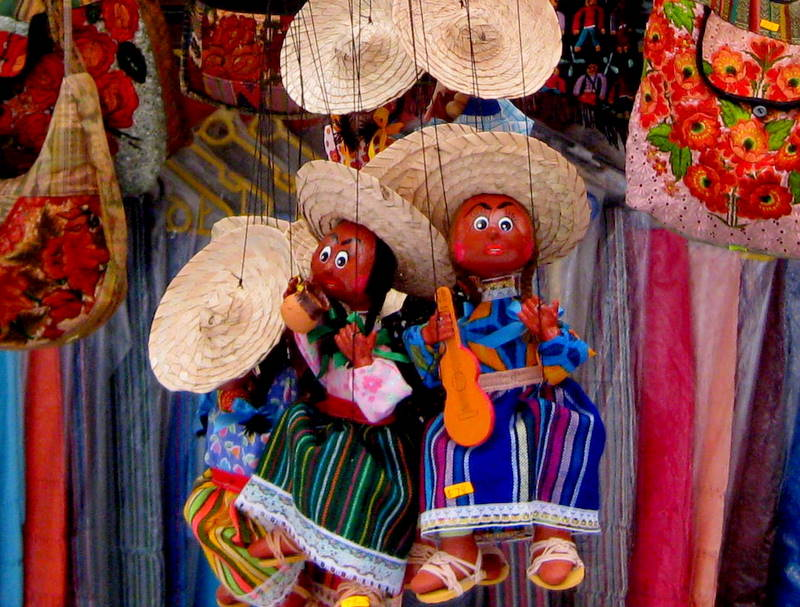 Mexican puppets