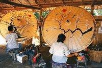 Umbrella painters