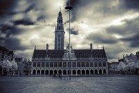 Ladeuze square in Leuven