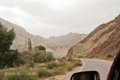 Driving on the Highest Highway in the World