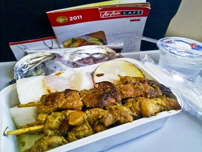 Air Asia's Stale Meal