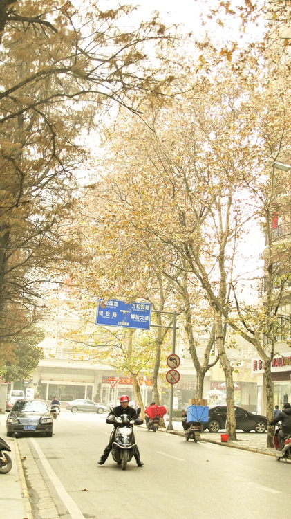 Wuhan in Winter