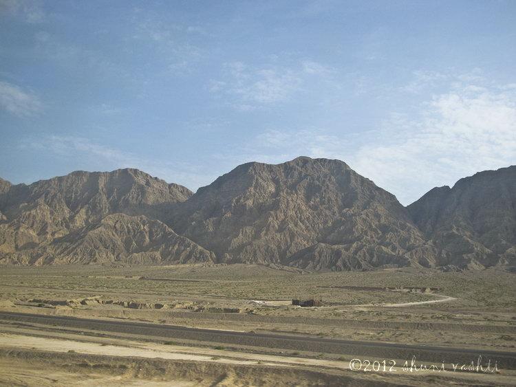 Taklamakan Desert Train View -1