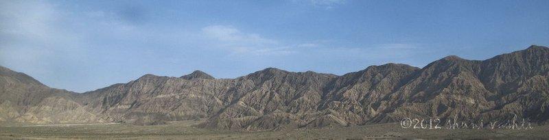 Taklamakan Desert Train View -2