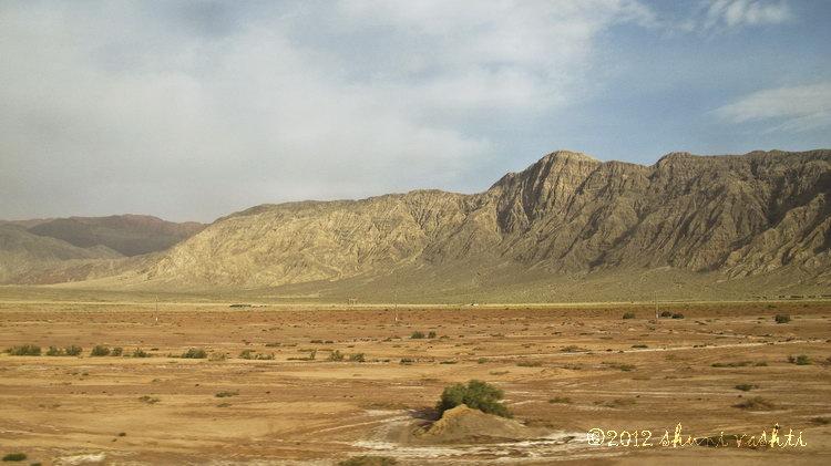 Taklamakan Desert Train View -3