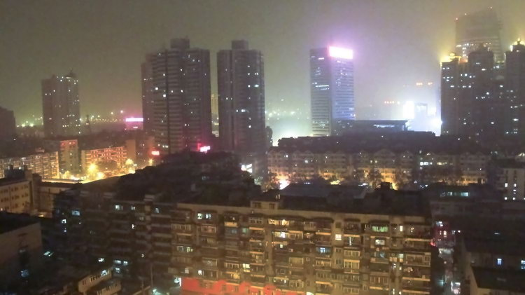 Wuhan City Night View