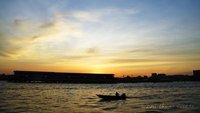 After Sunset on Sungai Brunei