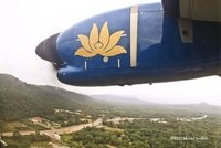 Landing on Phu Quoc