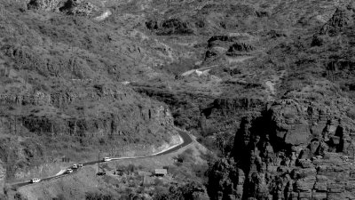 The roads of the Sierra de la gigantica