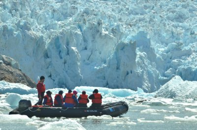Exploring the Ice Pack Around South Sawyer Glacier