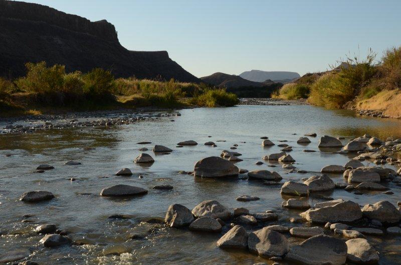 The Rio Grande in Evening