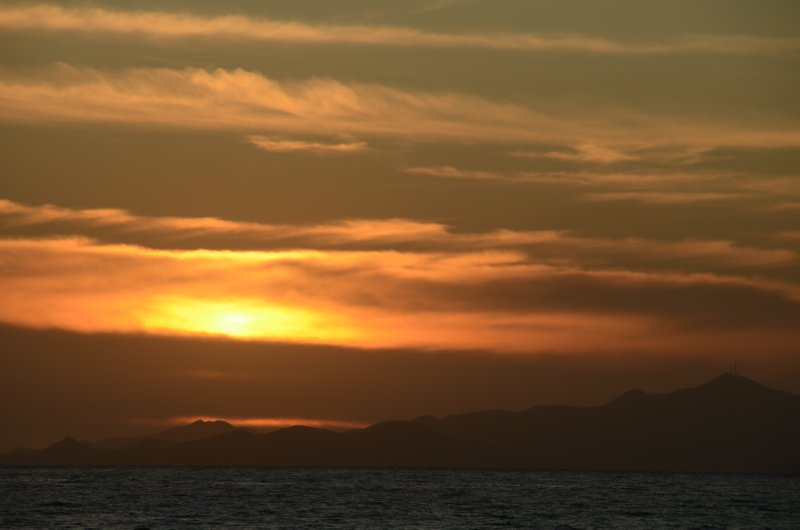 Sunset on the Sea of Cortez
