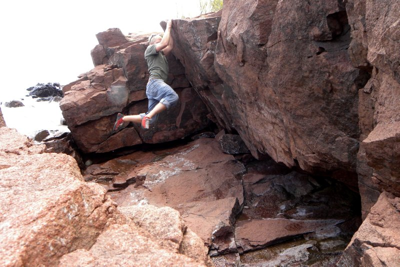 At The Crux: Boulder Problem
