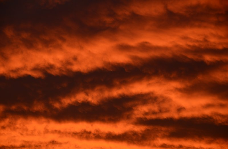 """""""Red Sky in the Morning, Sailors Take Warning"""""""