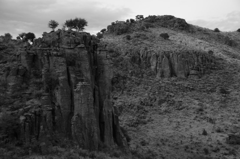 Davis Mountain Rock Formations