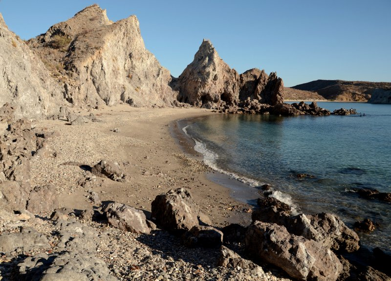 Secluded Beach at San Juanico