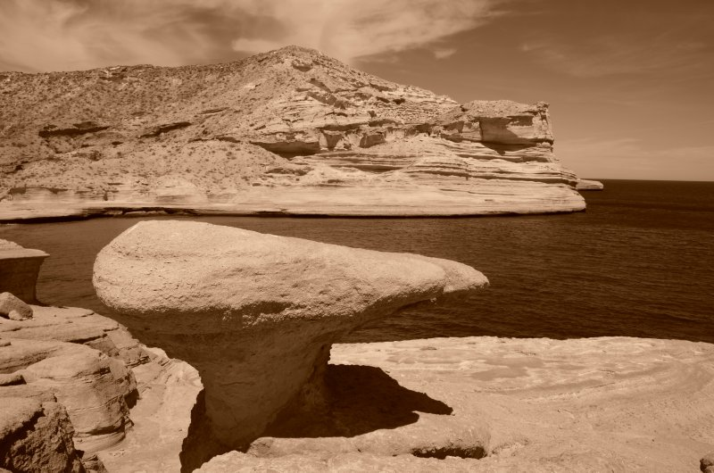 Interesting Rocks of Punta Colorado