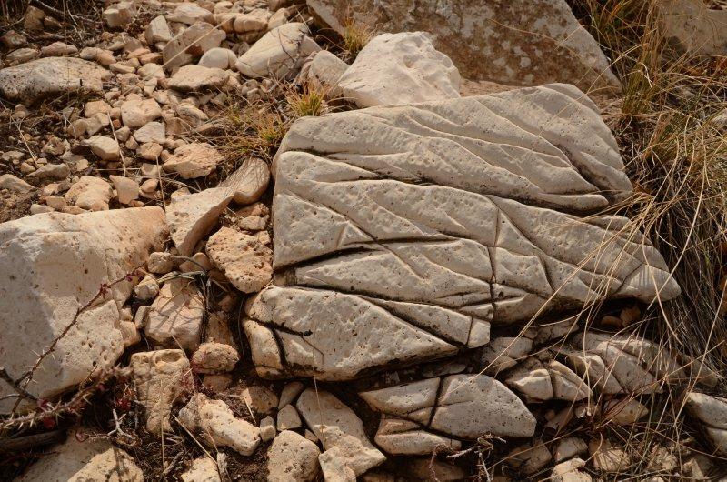 Striated Rock