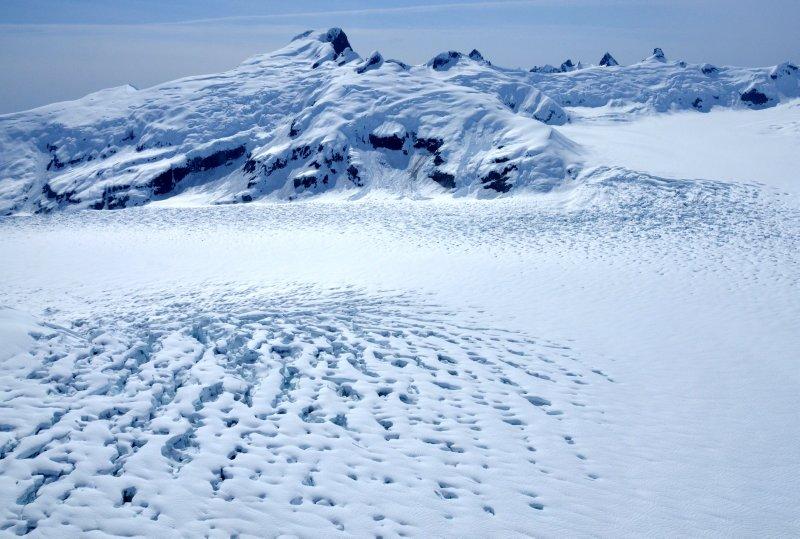 The Top of the Leconte Glacier