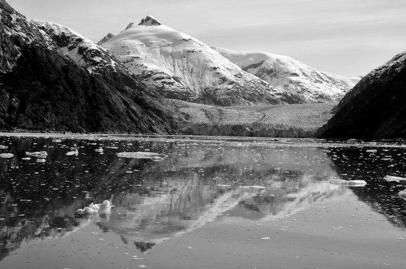 The Dawes Glacier, Reflected