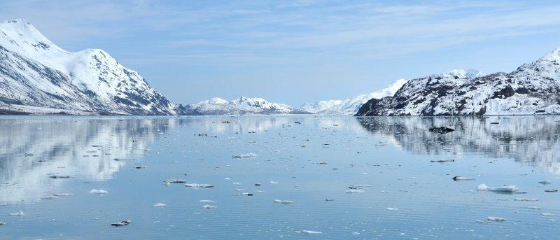 Glacier Bay Blue Scene