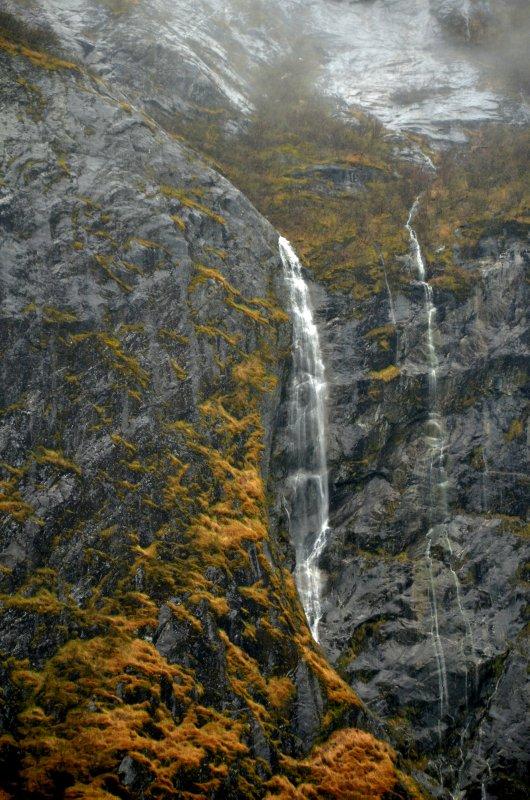 Waterfall and Rainfall