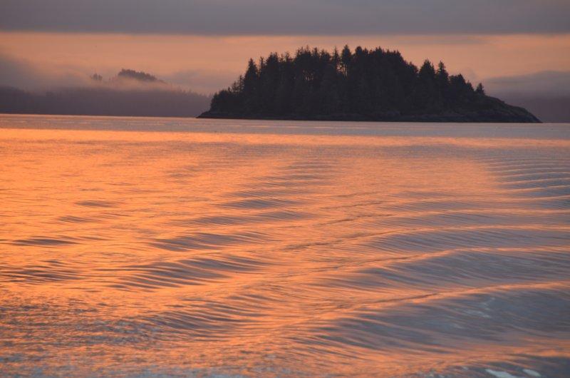 Boat Wake Color