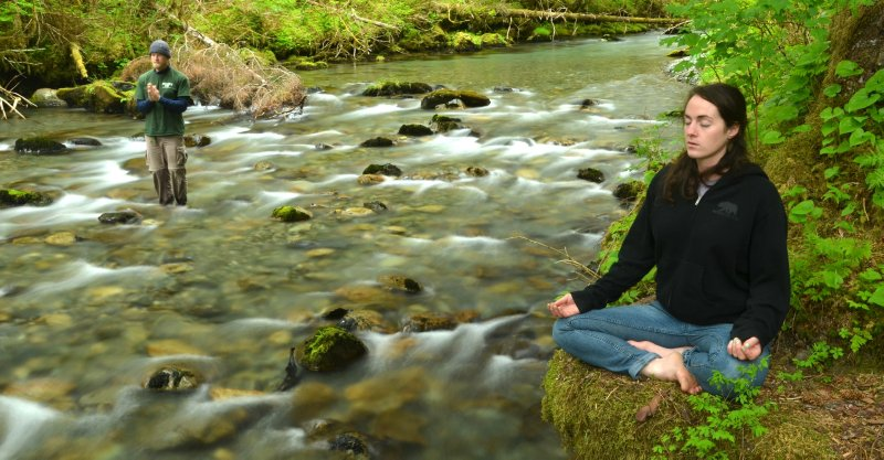 Finding Peace on the River