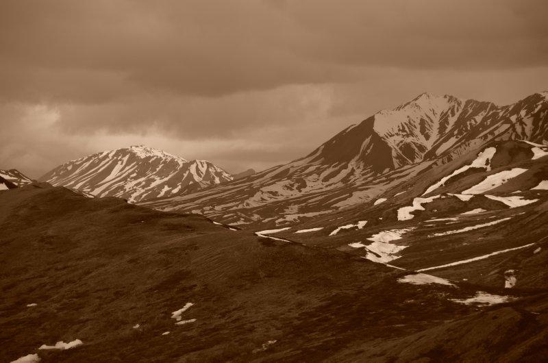 Brooding Clouds over the Alaskan Range