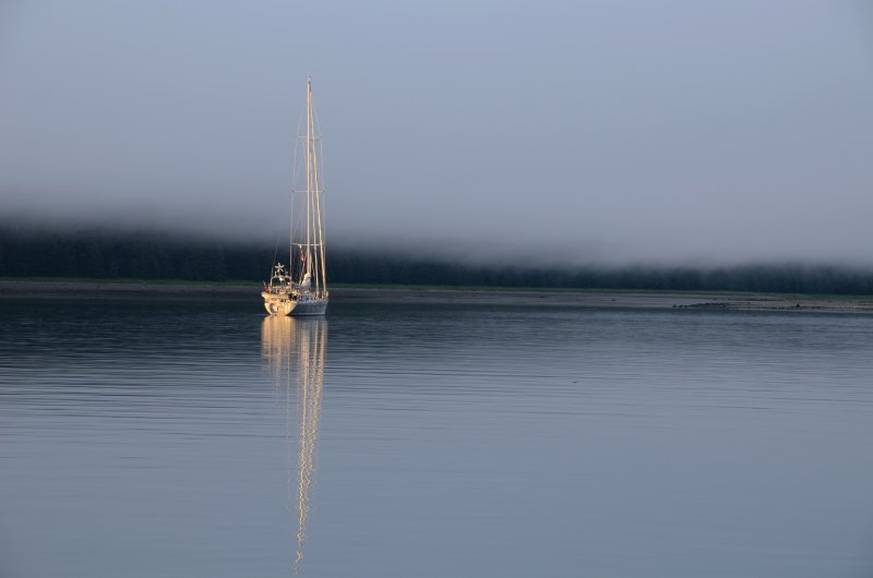 Sailboat Reflection
