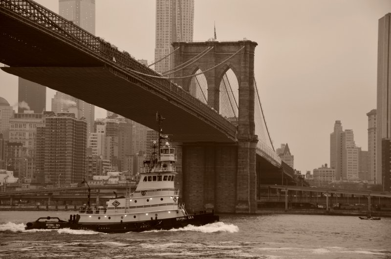 Tug and Bridge