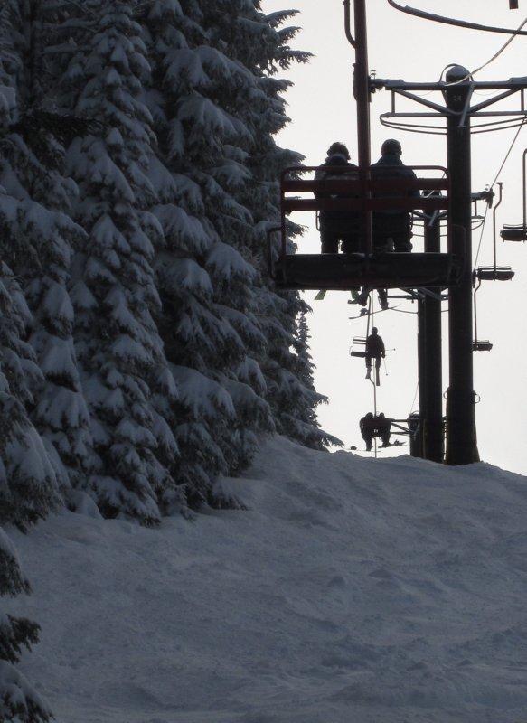 Chairlift Scene