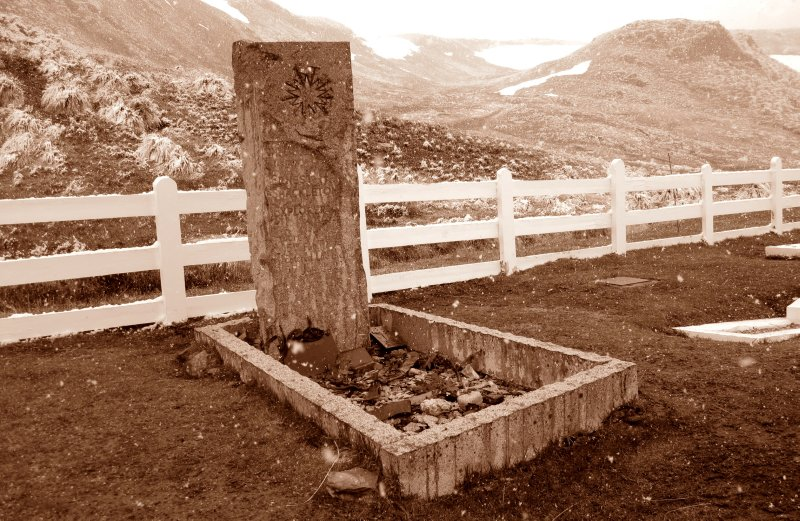 Shackleton's Grave