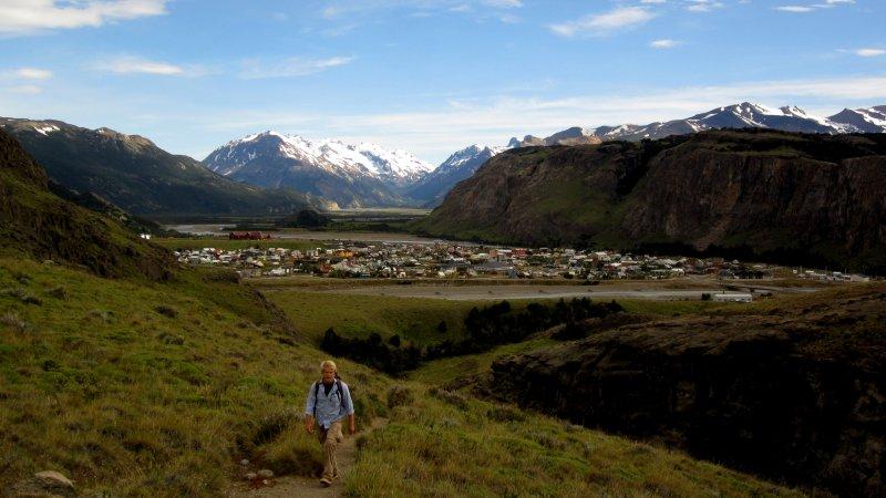 Hiking Above Chalten