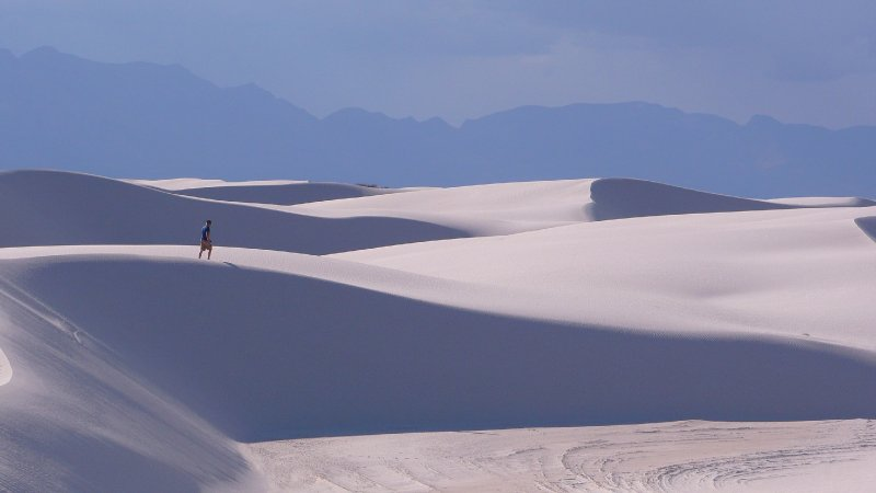 Sand Dunes at the White Sands