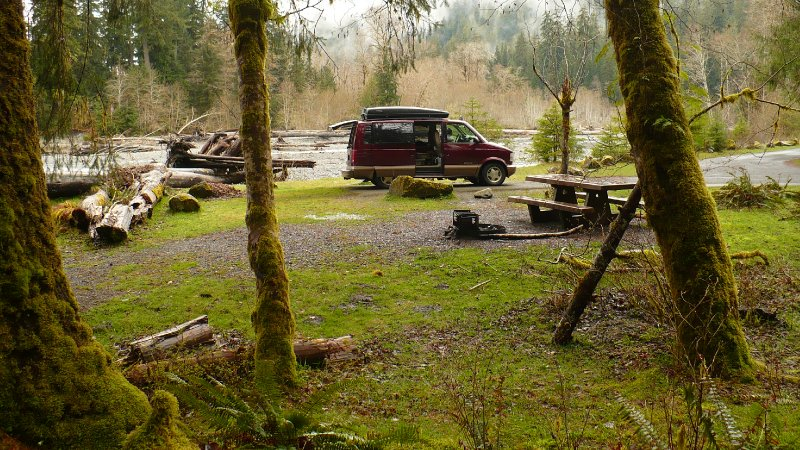 Hoh Rain Forest Campground