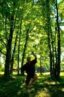 Forest Slackline Session
