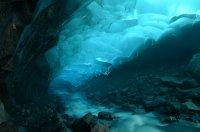 Descending Deep Into the Glacier