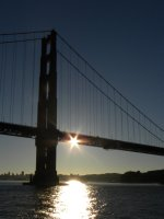 Sun Spark and the South Pier