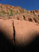 Retreating Canyon Shadows